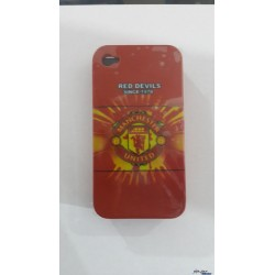 Man United Rubber Case for Iphone 4 & 4S