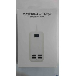 Desktop 4 USB Wall Charger